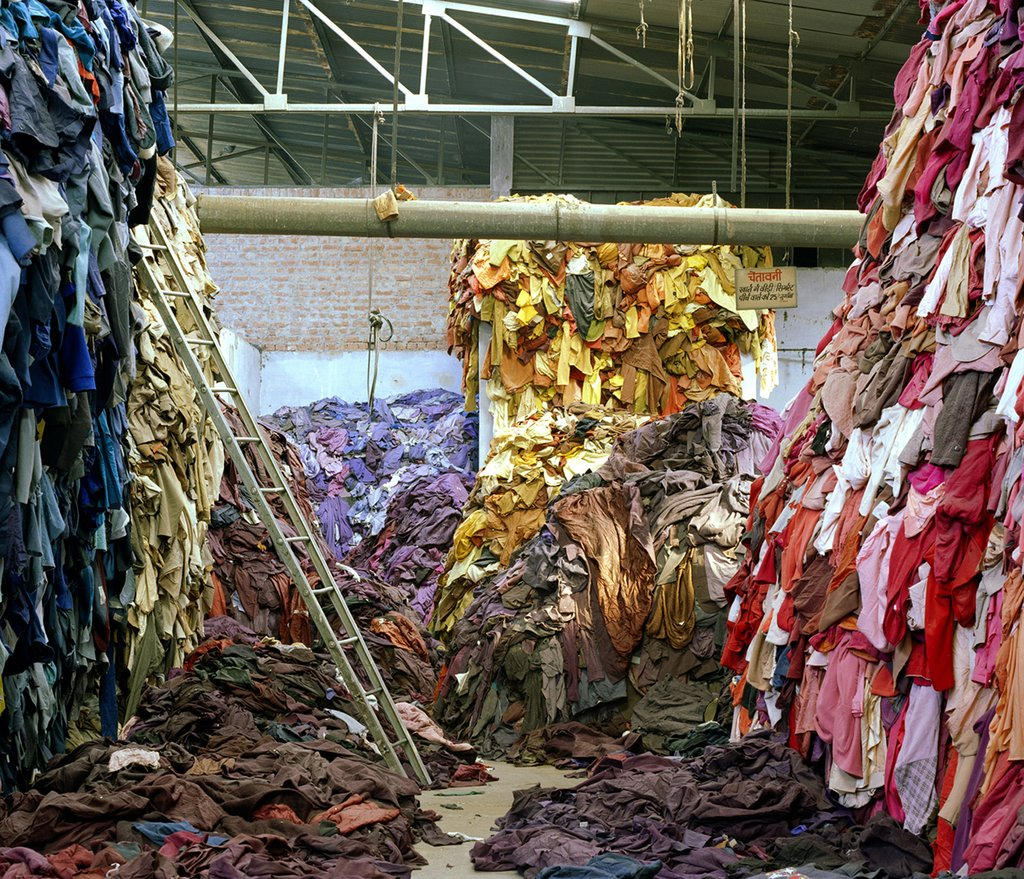 Tim Mitchell, Clothing Recycled, 2005 © Tim Mitchell and Lucy Norris
